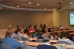Attendees in a breakout session.
