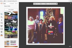 Screenshot of PicMonkey.com