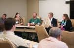 a panel at TechNow