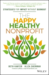 Book cover of The Happy Healthy Nonprofit